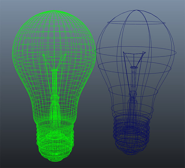 3d incandescent light bulb model - Lightbulb_01... by lightfiretech