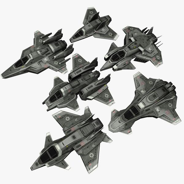 3d space frigates