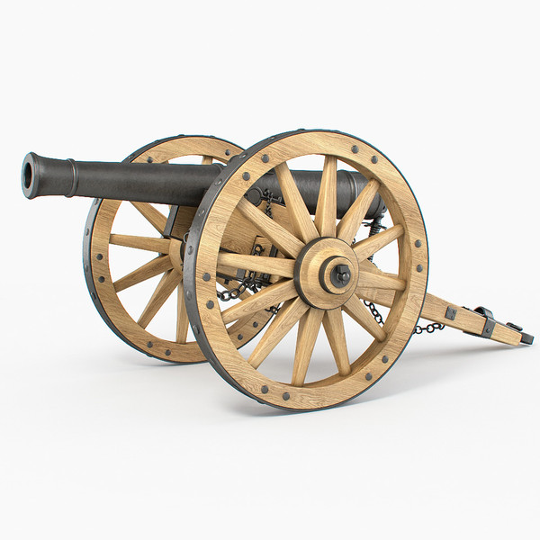 3d field cannon - Field cannon... by PlastyForma