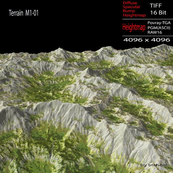 maya terrain m1-01