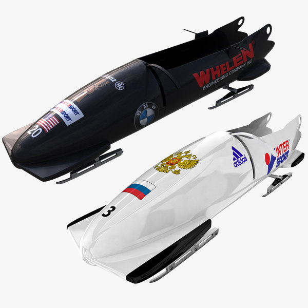 Bobsleds 2 and 4 Places