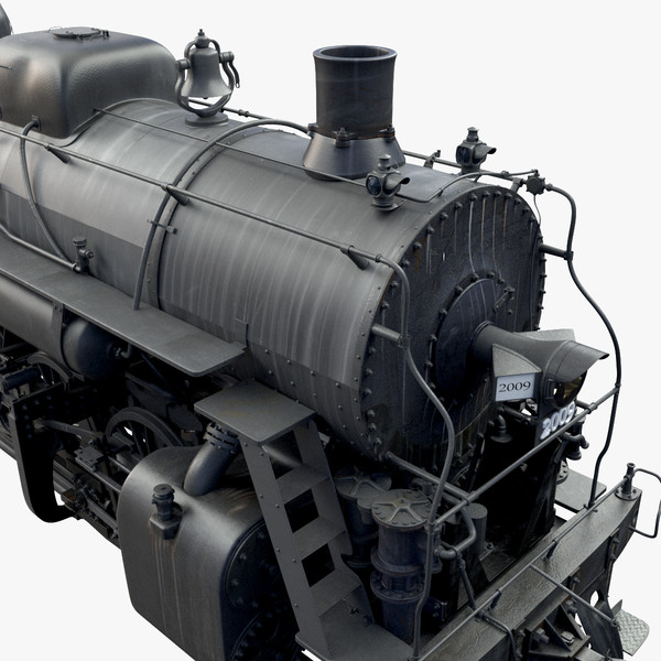 3d steam train model - Steam Train... by Maya2011
