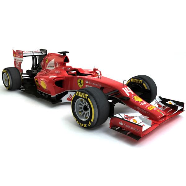 Ferrari F430 Scuderia 2009 3d Model For Download In: 3d Model 2014 Formula 1 Ferrari F14 T