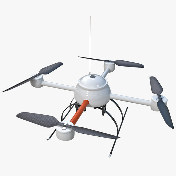 3d model quadcopter mini drone 2