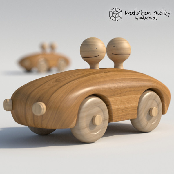max wooden toy couple - Wooden Toy Couple... by vertexhouse