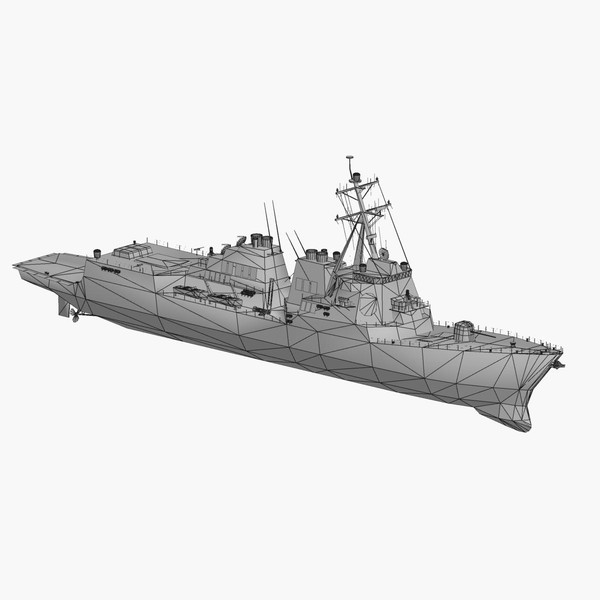 arleigh burke class destroyer 3d 3ds - Arleigh Burke Class Destroyer... by FangioDesign