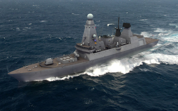 3ds type45 class destroyer