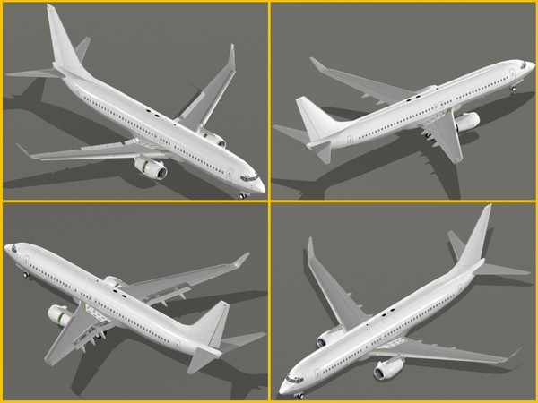 3ds max boeing 737 generation - Boeing 737 Next Generation Collection... by PedroFaut