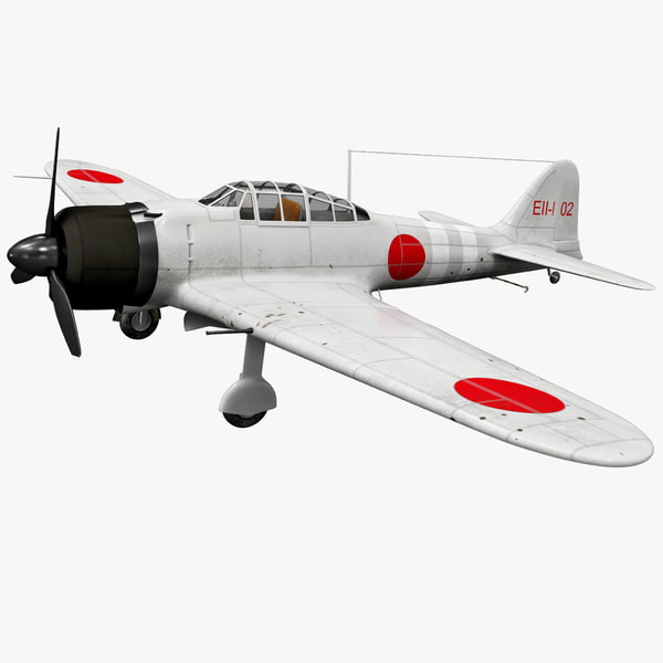 Mitsubishi A6M Zero Rigged