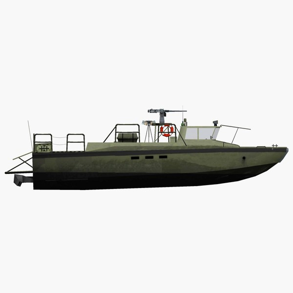 3d sweden patrol boat model - Combat Boat 90 H... by FangioDesign