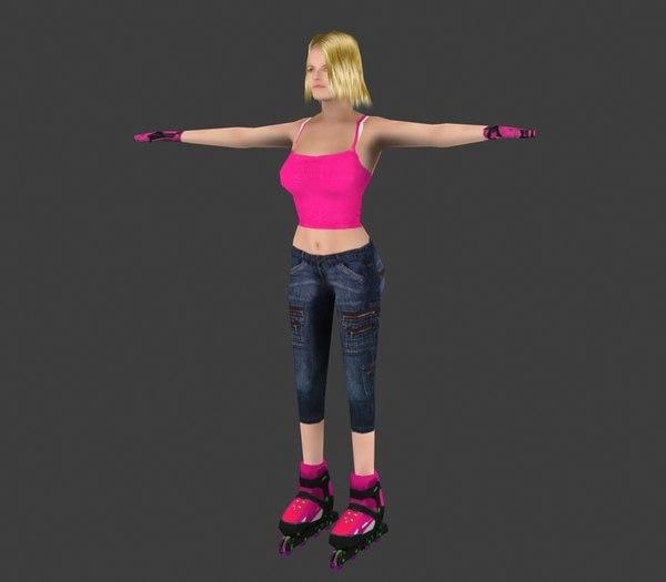 Skater Girl 4
