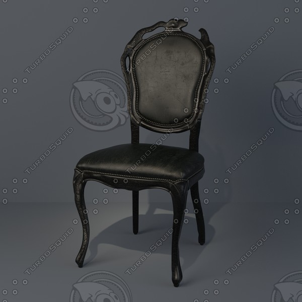 3ds max chair smoke dining
