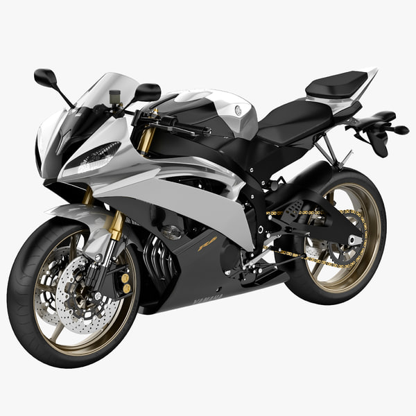 yamaha yzf r6 2 3d 3ds