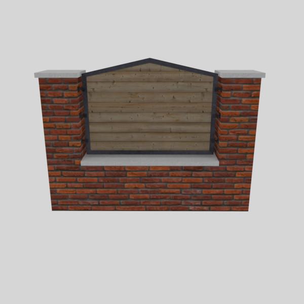 3d Model Pile Bricks