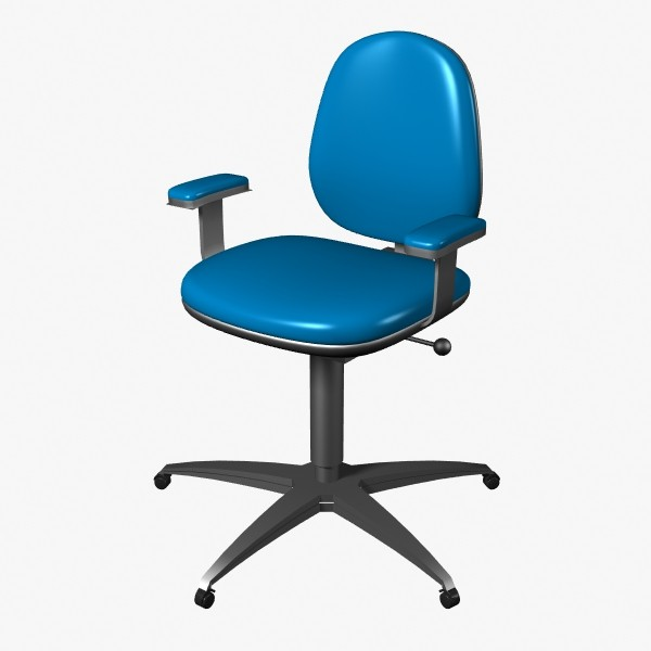 office chair 3d model - Office Chair... by mostlysquare