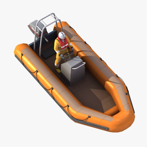 RIB Rescue Dinghy 5M