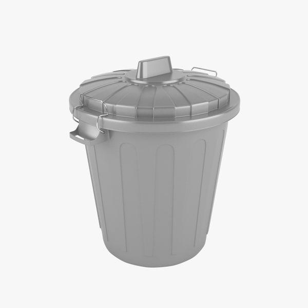 3d trash realistic