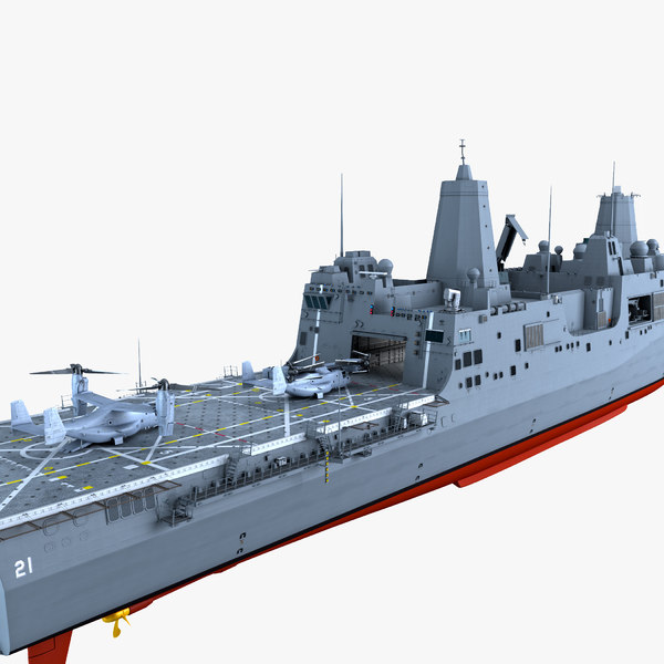uss new york osprey 3d model