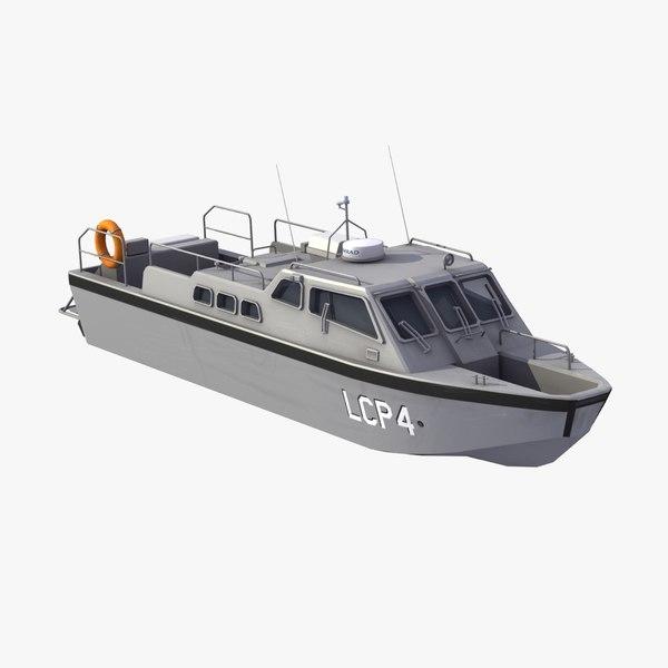 3d landing craft lcp motor