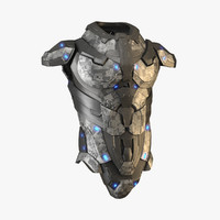 body armour 3D models