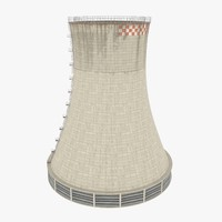 3d cooling tower