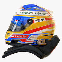 racing helmet fernando alonso max