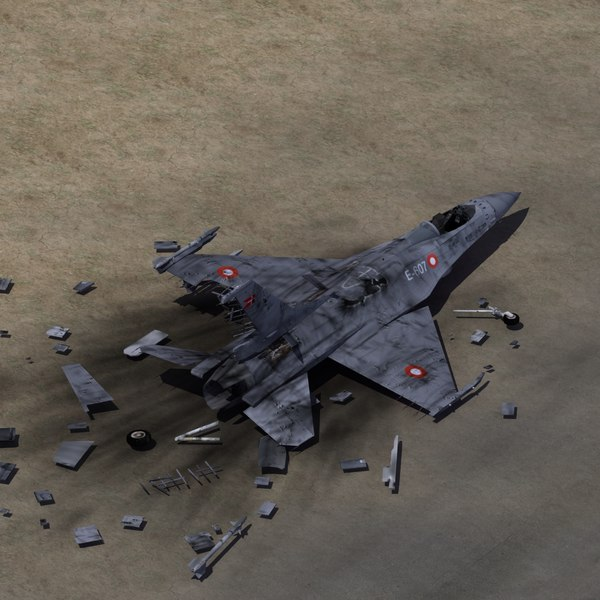 fighter jet wreckage max
