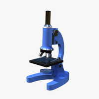 microscope 3d model
