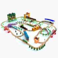 Kids Train Toy Set