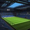 soccer stadium 3D models