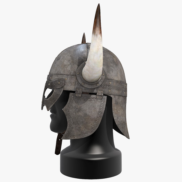 viking horned helmet 3d maxHorned Helmet Viking
