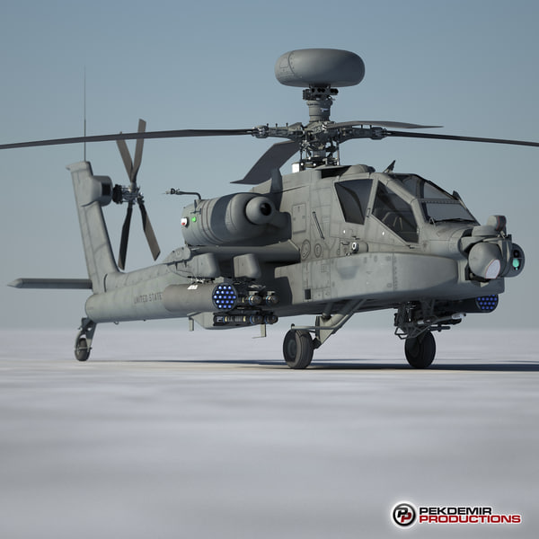 apache longbow helicopter 3d model - Apache Longbow Helicopter    by    Apache Longbow Helicopter