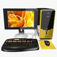 computer asus 3d model