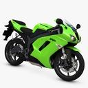 Sport motorcycle 3D models