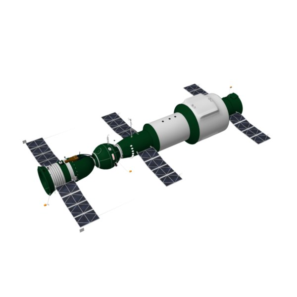 salyut 1 space station illustration - photo #4