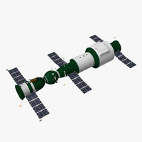 soyuz 1 salyut spacecraft max