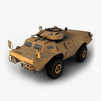 m1117 vehicle 3d model