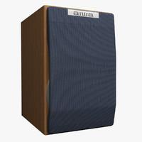 3ds max speaker