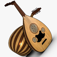 traditional arabic lute oud max