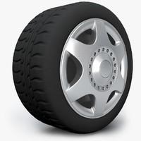 3d wheel tyre model