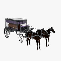 Hearse and Horses