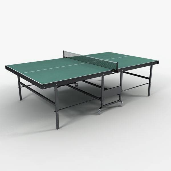 3ds Max Ping Pong Table Ping Pong Table By Monkeyodoom