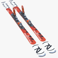 3d rossignol skis alpine model
