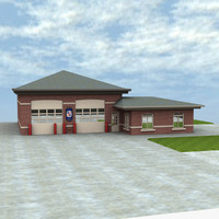 maya firehouse building