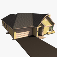 One Story House A3609A
