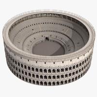 colosseum roman coliseum arena 3d max