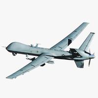 3dsmax mq-9 reaper