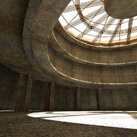 Sci Fi Arena Interior