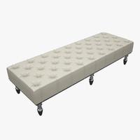 3d model edna panca-bench