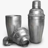 shaker 3d model